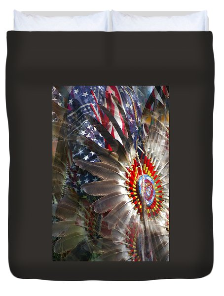 United We Stand Duvet Cover by Randy Pollard
