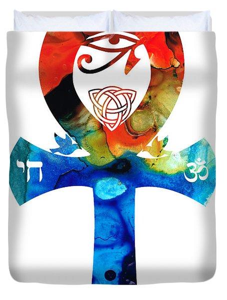 Unity 16 - Spiritual Artwork Duvet Cover