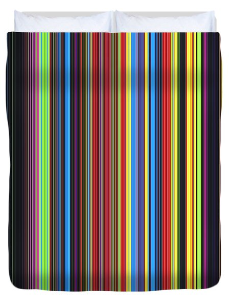 Unity Of Colour Duvet Cover by Tim Gainey