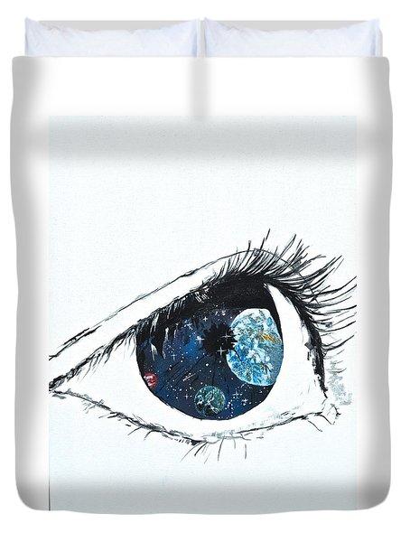 Universal Eye Duvet Cover