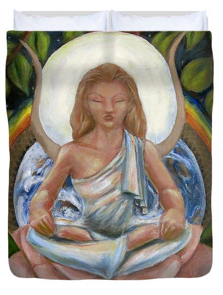 Universal Goddess Duvet Cover