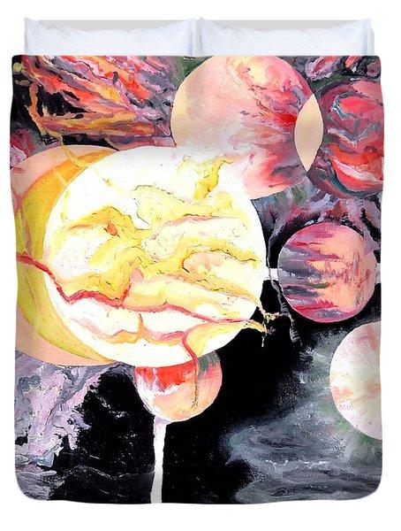 Universe Duvet Cover by Daniel Janda