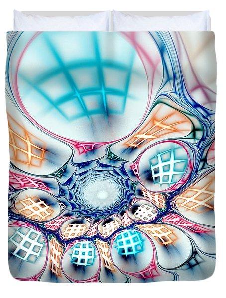 Universe In A Bag Duvet Cover by Anastasiya Malakhova