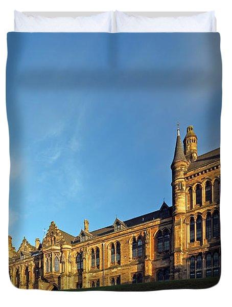 University Of Glasgow Duvet Cover