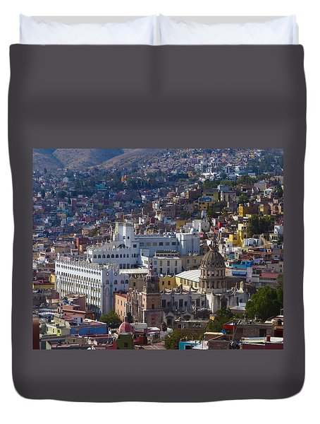 University Of Guanajuato Duvet Cover by Douglas J Fisher