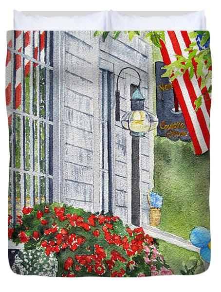 University Of Nantucket Shop Duvet Cover