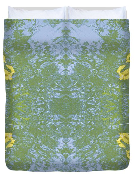 Unnatural 17 Duvet Cover by Giovanni Cafagna
