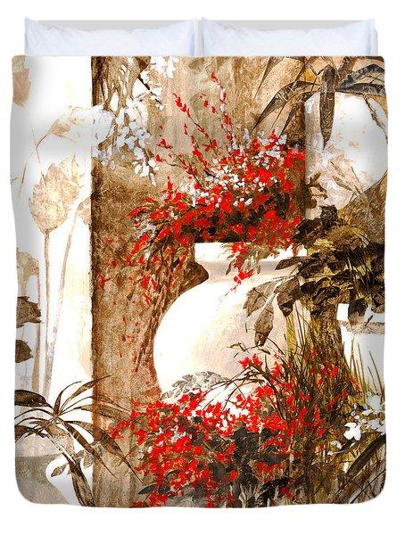 Uno Bianco Duvet Cover by Guido Borelli