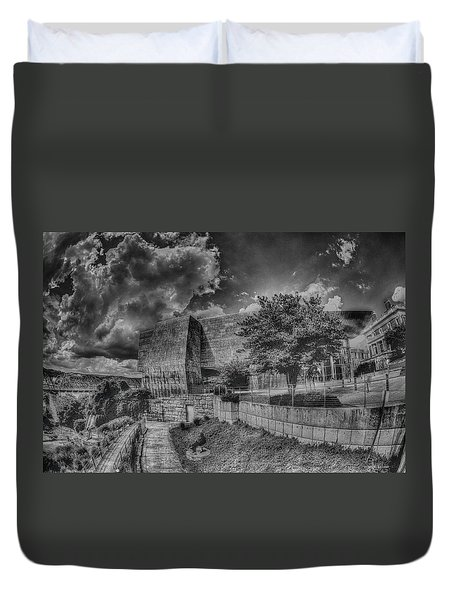 Duvet Cover featuring the photograph Unobstructed View by Dennis Baswell