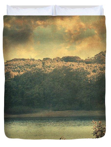 Unseen Duvet Cover by Taylan Apukovska