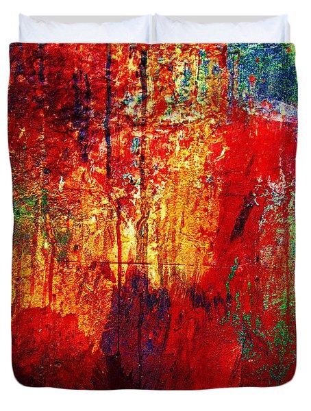 Untamed Colors  Duvet Cover
