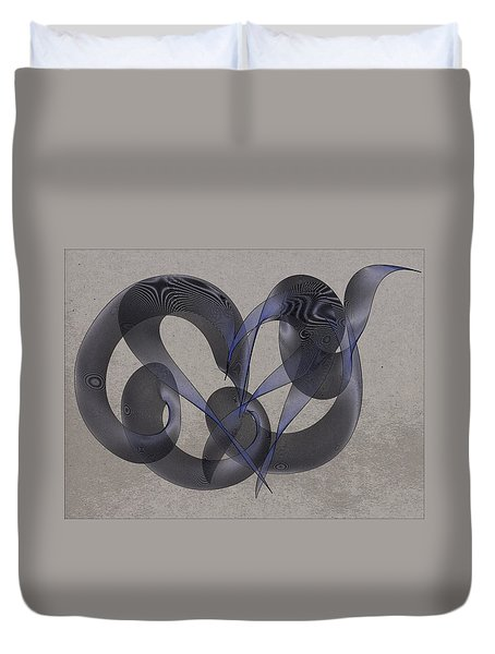 Untangled Hearts Duvet Cover