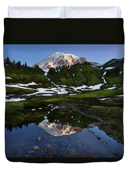 Untarnished View Duvet Cover by Ryan Manuel