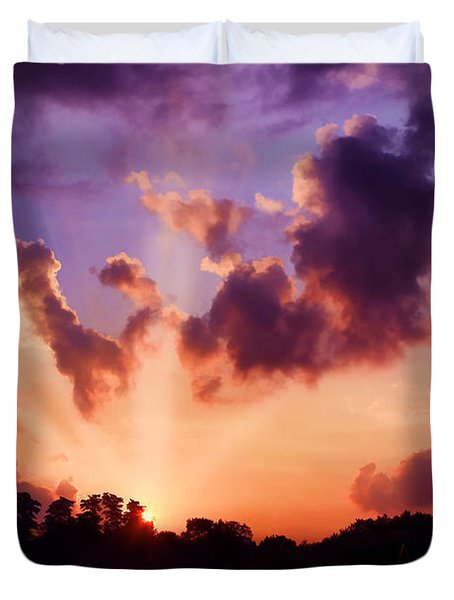 Until Tomorrow Duvet Cover by Darren Fisher