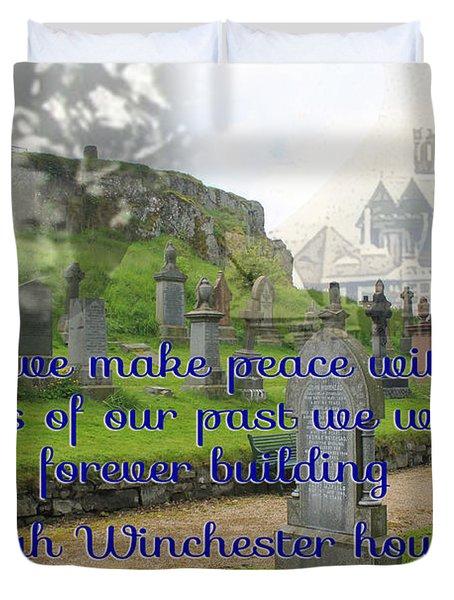 Until We Make Peace Duvet Cover
