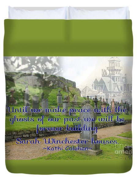 Until We Make Peace Duvet Cover