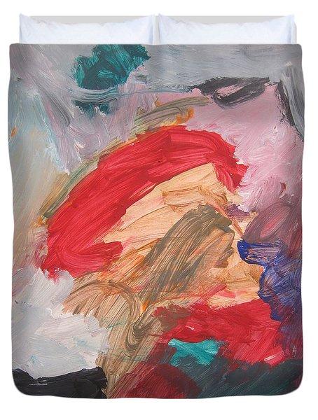 Untitled #56  Original Painting Duvet Cover