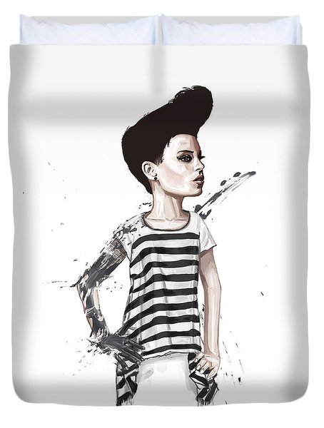 untitled II Duvet Cover by Balazs Solti