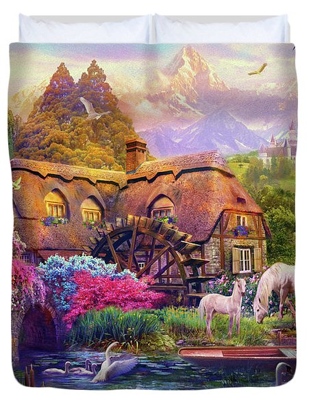 Light Palace Duvet Cover