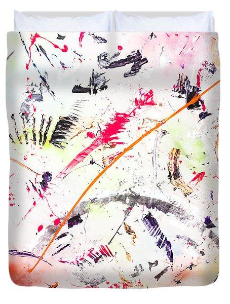 Untitled Number Seven  Duvet Cover