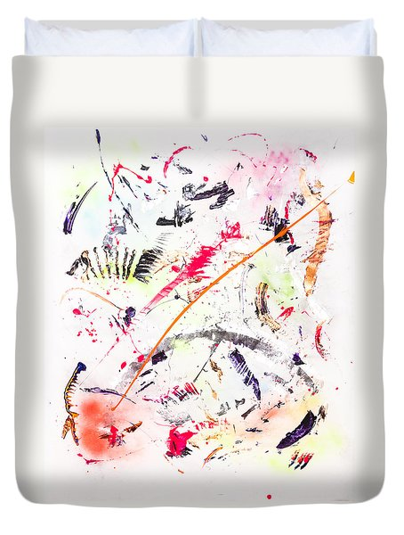 Untitled Number Seven  Duvet Cover