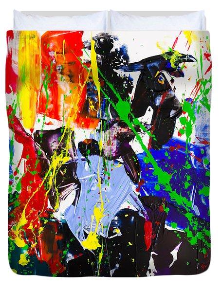 Untitled Number Twenty Three Duvet Cover