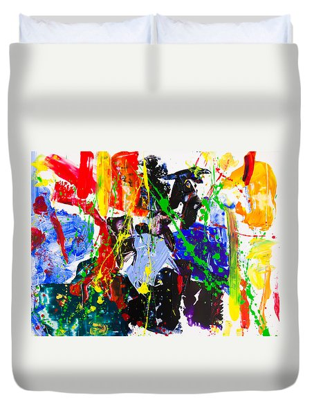 Untitled Number Twenty Three Duvet Cover