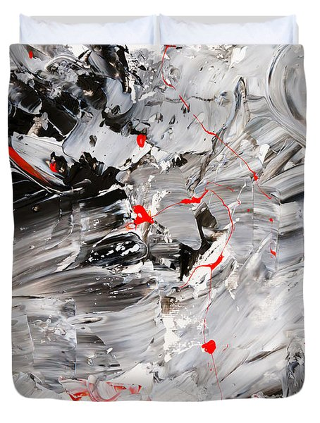 Untitled Number Twenty Two Duvet Cover