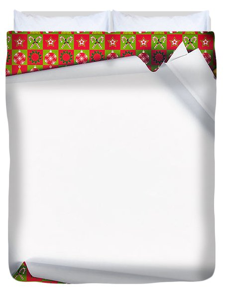 Unwrapping Gifts Duvet Cover