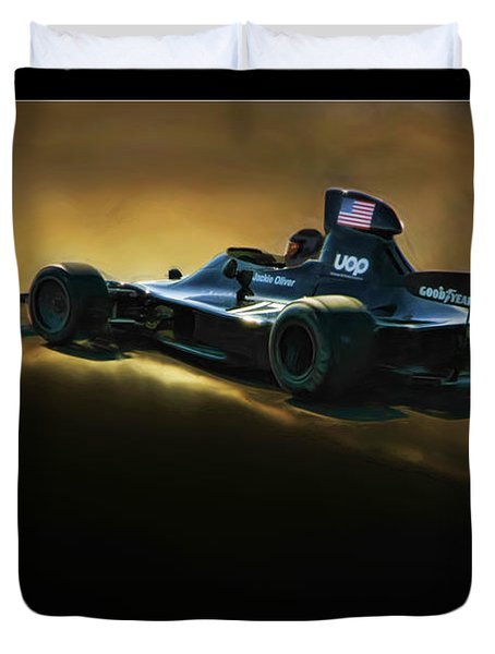 Uop Shadow F1 Car Duvet Cover