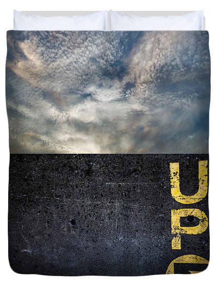 Up At Sunrise Duvet Cover by Bob Orsillo