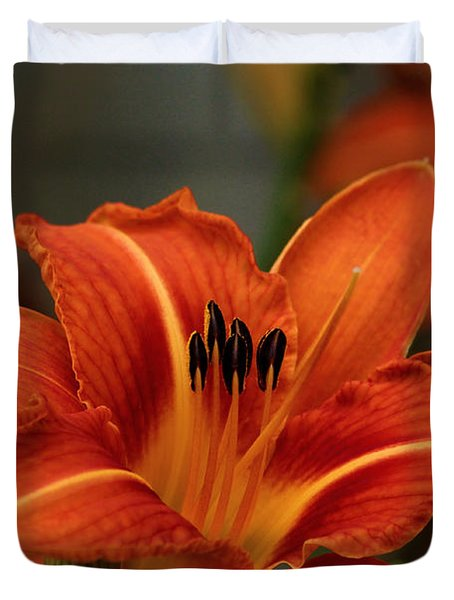 Up Close And Personal Two Duvet Cover by Jeanette C Landstrom