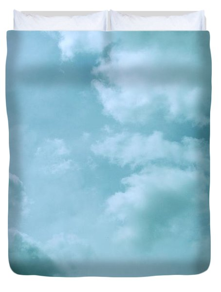 Up Into The Heavens Duvet Cover