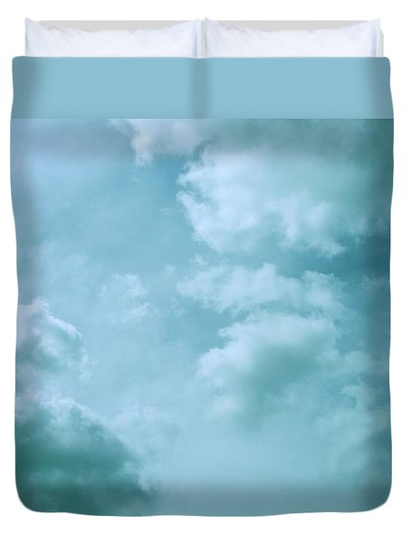 Up Into The Heavens Duvet Cover by Mary Wolf