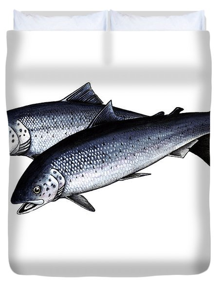 Up River Duvet Cover