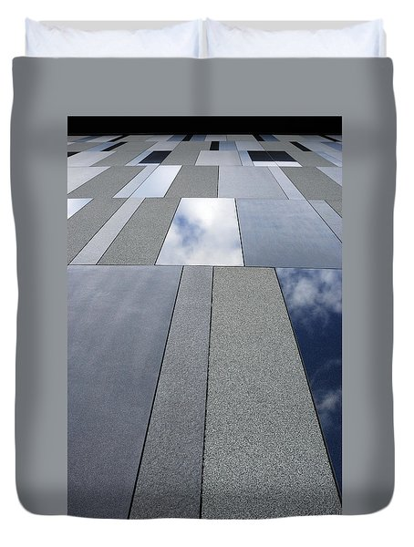 Up The Wall Duvet Cover