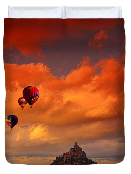 Up Up And Away Duvet Cover