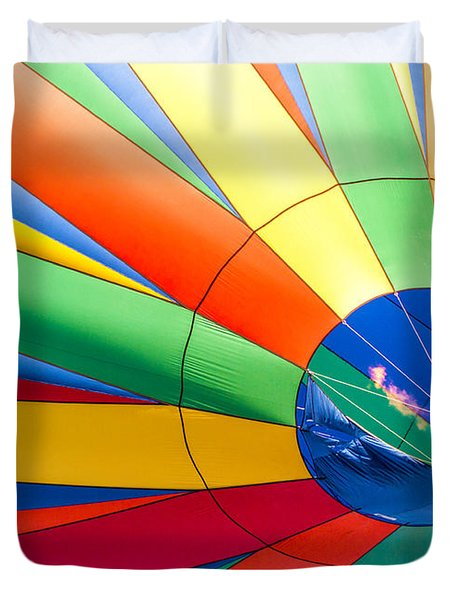 Up Up And Away Duvet Cover by Roselynne Broussard