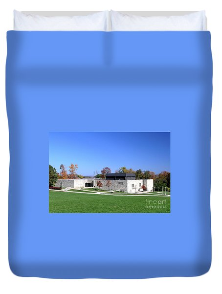 Upj Engineering Hall Duvet Cover