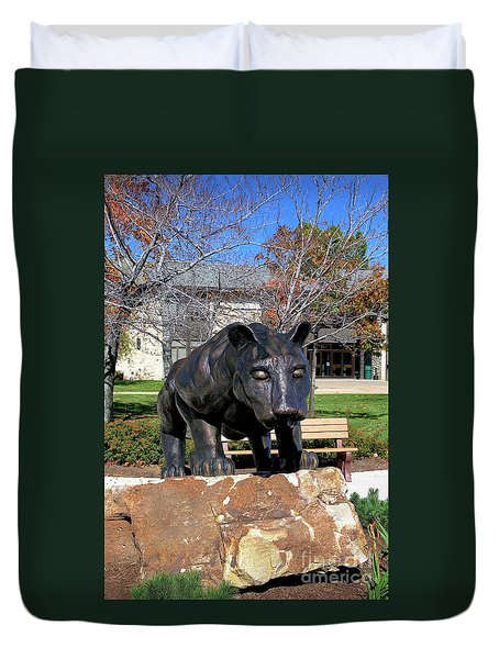 Upj Panther Duvet Cover