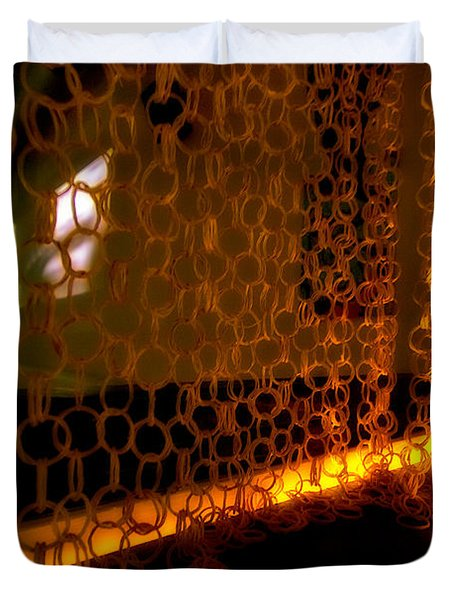 Uplight The Chains Duvet Cover by Melinda Ledsome