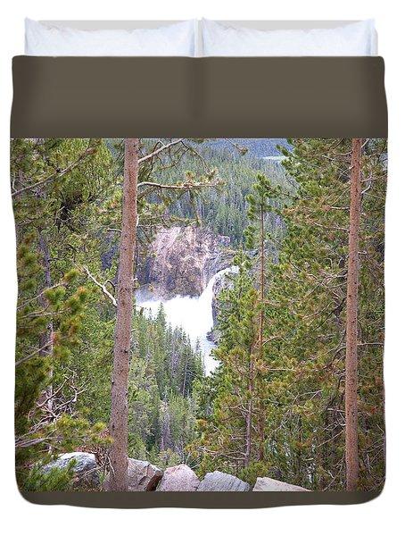 Upper Falls Duvet Cover
