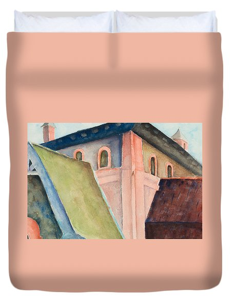 Upper Level Duvet Cover by Lee Beuther