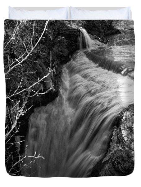 Upper Taughannock Duvet Cover