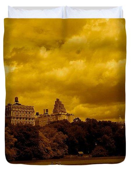 Upper West Side And Central Park Duvet Cover