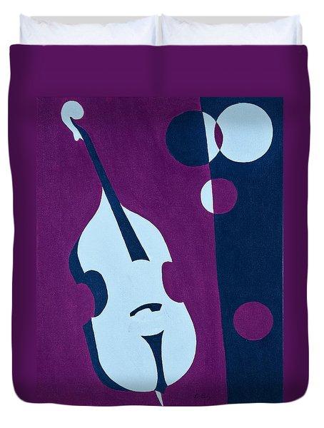 Upright Jazz Duvet Cover