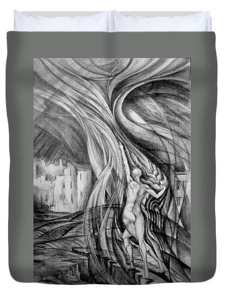 Uprising To Heaven  Duvet Cover