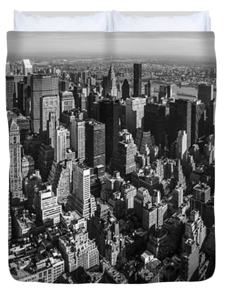 Uptown Manhattan Duvet Cover