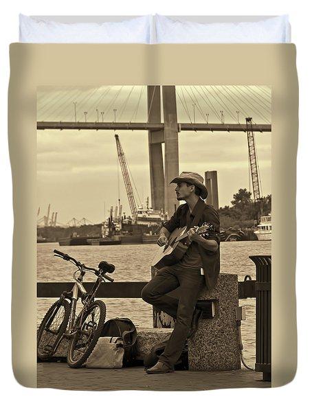 Urban Cowboy Duvet Cover