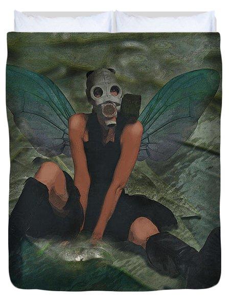 Urban Fairy Duvet Cover